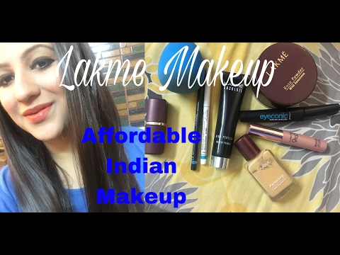Lakme makeup tutorial/ Everyday glam makeup tutorial for Indian skin