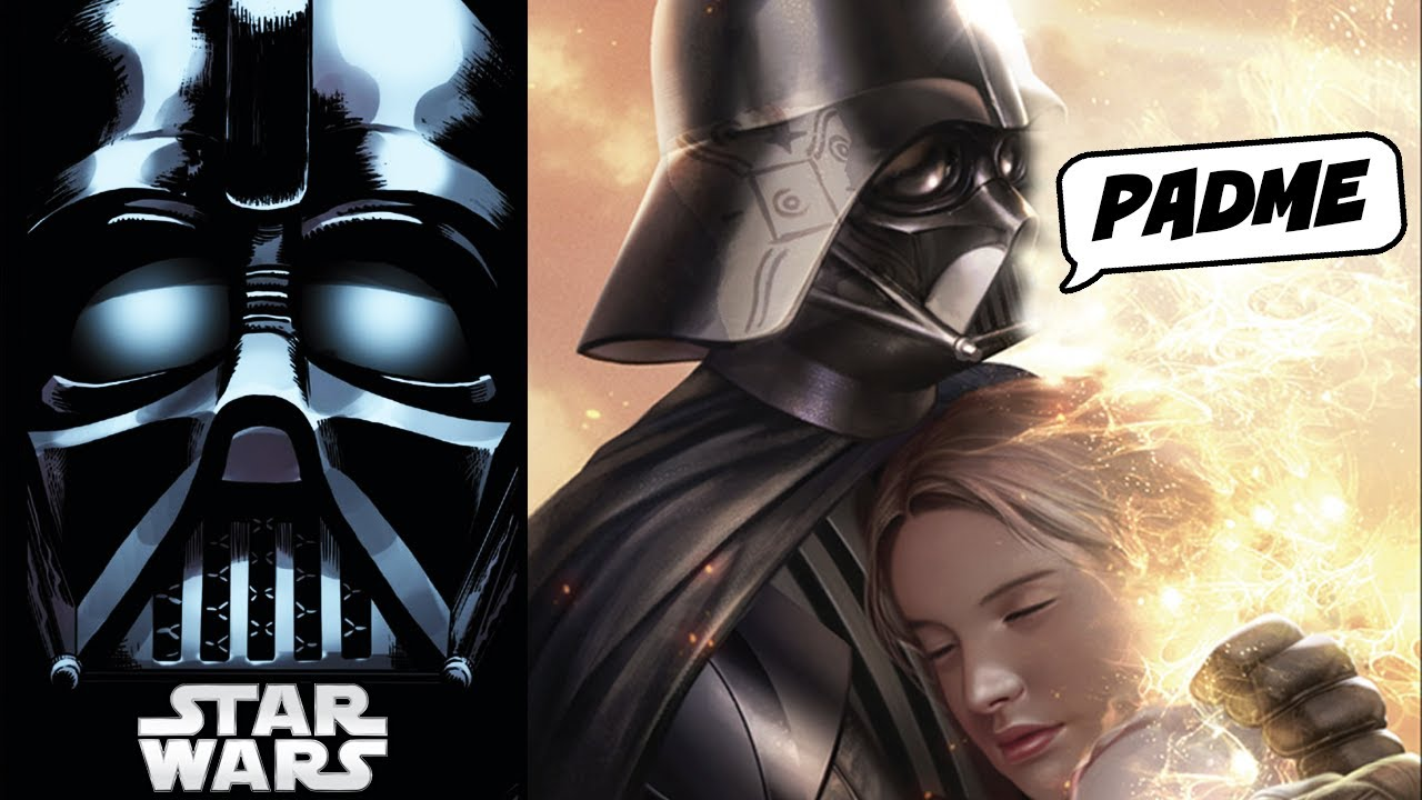 Vader Goes to Padme's Tomb! (CANON) - Star Wars Comics