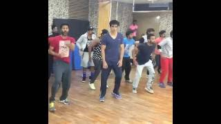 "Sonu Sood & Prabhu Deva Dancing On ""Tutak Tutak Tutiyan"" Upcoming Movie Song"