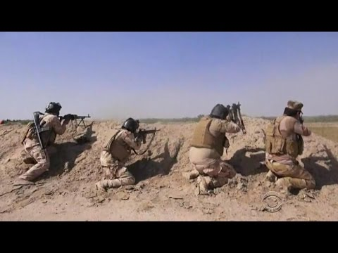 U.S.-led coalition pounds ISIS strongholds in Fallujah