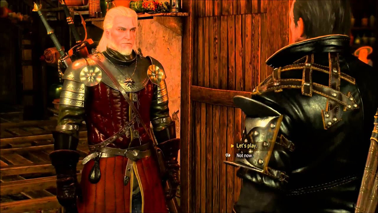 lambert  gwent old pals  the witcher 3 wild hunt  youtube