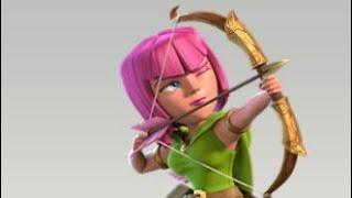 Where Is The Archer Movement // Funny Clip In Coc