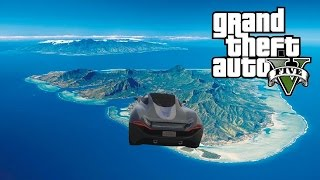 GTA 5 - BIG ISLAND STUNT ! 100% FUN