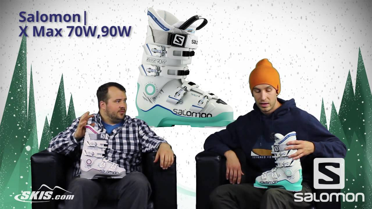 2017 Salomon X Max 70 and 90 Womens Boot Overview by SkisDotCom