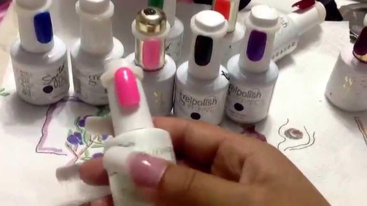 Gelpolish et syster gel soak off ebay - YouTube