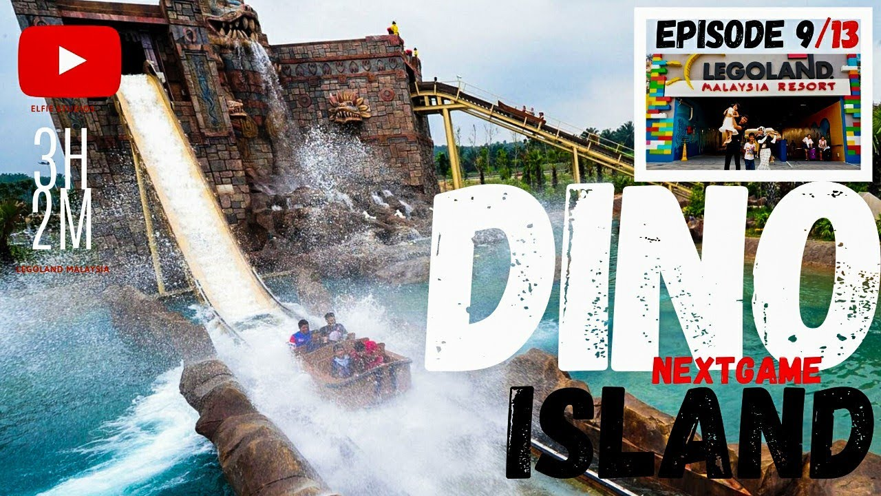 Bongkar EP 9/13   Dino Island - Theme Park   Legoland ...
