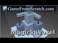 MagickaVoxel -- A free Voxel painting ap