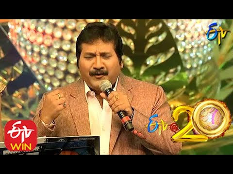 Mano and Geetha Madhuri Performs - Matarani Song in ETV @ 20 Years Celebrations - 23rd August 2015