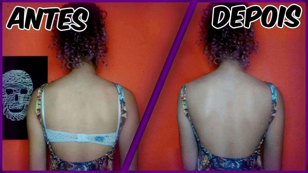716114129 Como fazer sutiã invisível - Sutiã que não aparece nas costas  Diy backless  Bra - YouTube