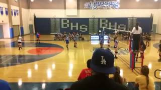 Ashley Hart #22 beaumont vs San Jacinto 2015