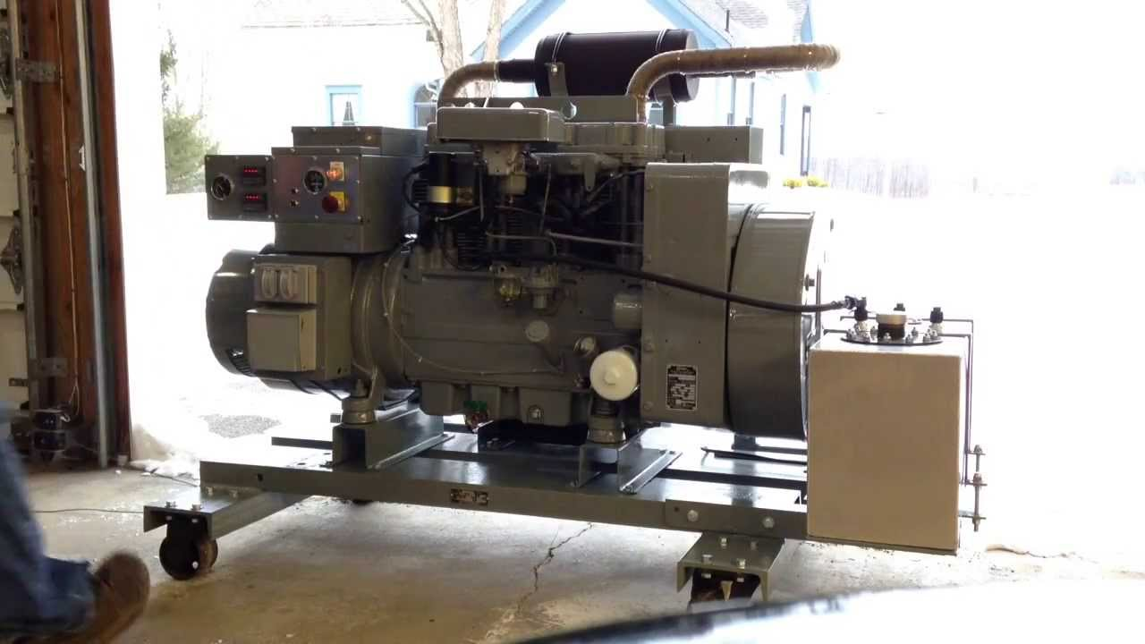 Onan 15kW Generator After Rebuild