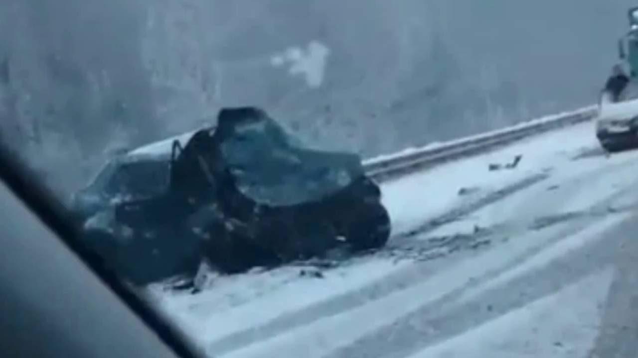 Четыре машины столкнулись на трассе в Ивановской области: трое пострадавших