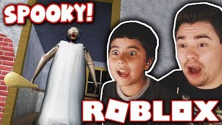 PLAYING HORROR GAMES WITH MY LITTLE BROTHER!! *HE GETS SCARED!* (Roblox)