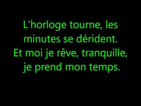 L'horloge tourne - Mickael Miro #Paroles