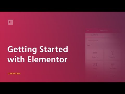 Elementor Tutorial: Getting Started - 3 minutes Overview