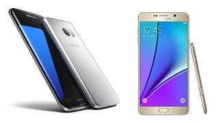 Samsung Galaxy S7 Edge vs Note 5 kamera performansı karşılaştırması