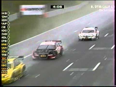 DTM 2011 Oschersleben Green Jarvis Coulthard.mpeg