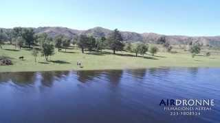 Lago Dique Los Molinos - Córdoba - ARGENTINA - (desde un drone) full HD