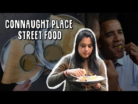 CONNAUGHT PLACE STREET FOOD WALK | Obama Approves This Paan