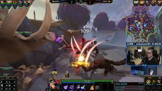 Awilix: DONATED TO PLAY A FULL ATTACK SPEED! - Smite