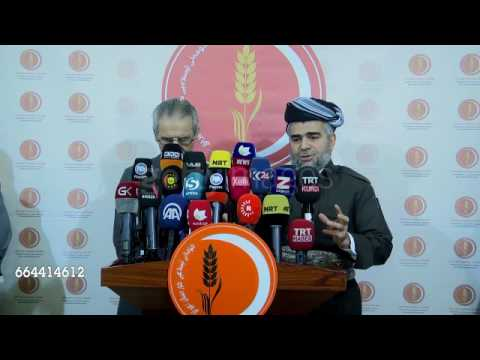 Kurdish parties discuss independence referendum in Arbil احسان مةلا زاده