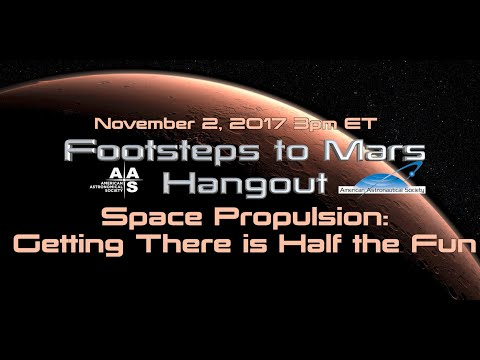 Space Propulsion: Getting to Mars is Half the Fun