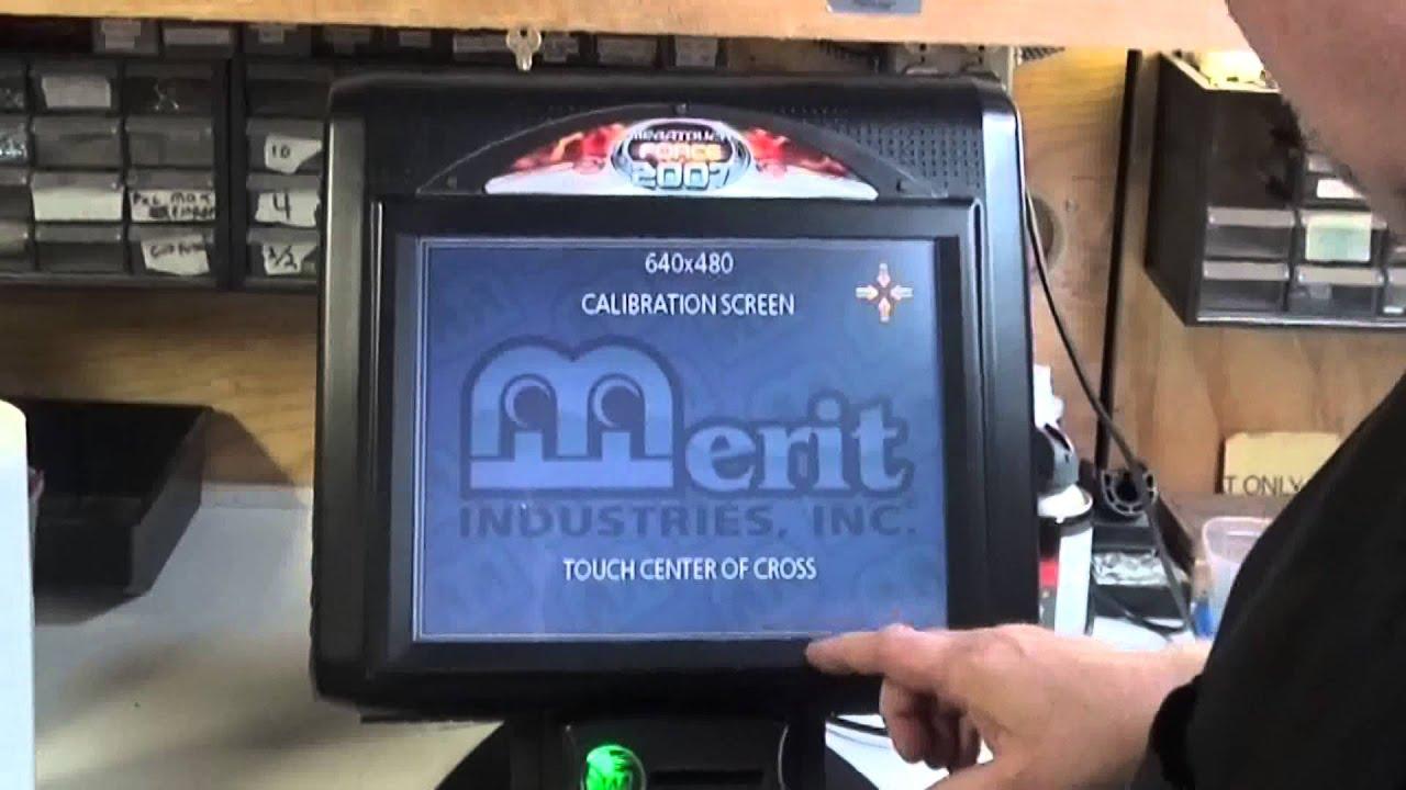 640 Merit Megatouch Force Touchscreen Calibration Trick Tnt Soundoff Signal Wiring Diagram Amusements