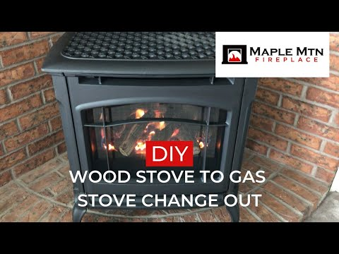 DIY Wood Stove to Gas Stove DAQ Change Out