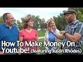 How To Make Money On Youtube! (featuring Justin Rhodes)