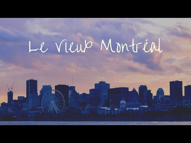 VIEUX MONTREAL | #QUEBEC | 🎥 SONY AX100