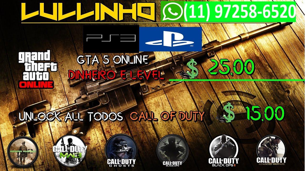 Unlock all Em Todos Call Of Dutys MEU SERVIÇO | LULLINHO