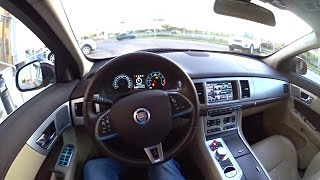 2015 Jaguar XF POV Test Drive