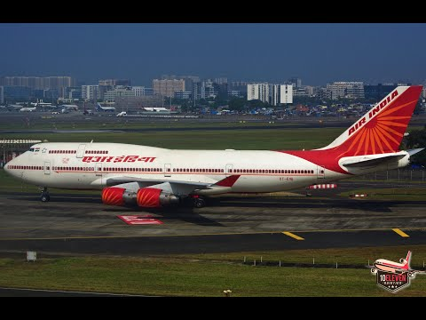 #10: BOEING 747 FULL FLIGHT TRIP REPORT | AIR INDIA AI966 | Hyderabad - Mumbai | MONSOON