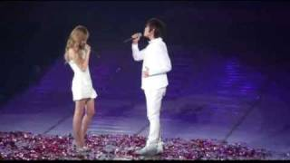 SNSD Concert- Jessica & Onew (SHINee)- One Year Later @ Shanghai (100417)