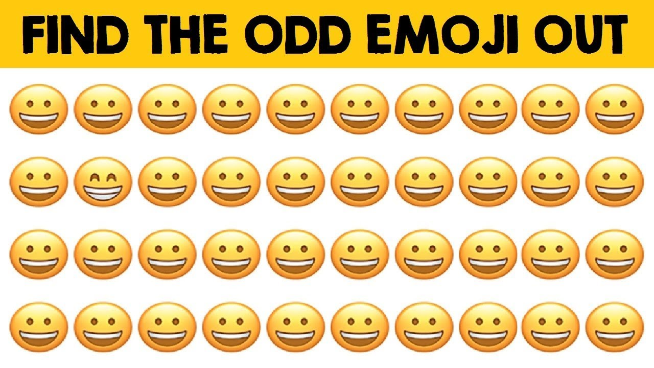 how-fast-can-you-find-the-odd-emoji-out