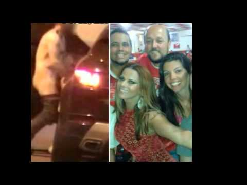 Video de Viviane Araujo fazendo sexo na rua com suposto amante.