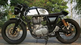 Royal Enfield Continental Gt 535 Custom By J&D Custom Co.    Modified Continental Gt 535   