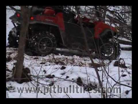 Pit Bull ATV / UTV Tires on the ATVTorture Project RZR