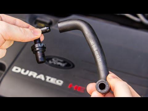 How to: Replace PCV valve, hose, oil separator Ford Duratec / Mazda L (Focus/Ranger/Mondeo/Mazda)