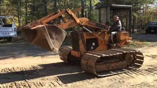 1978 Case 350 Wide Track Loader