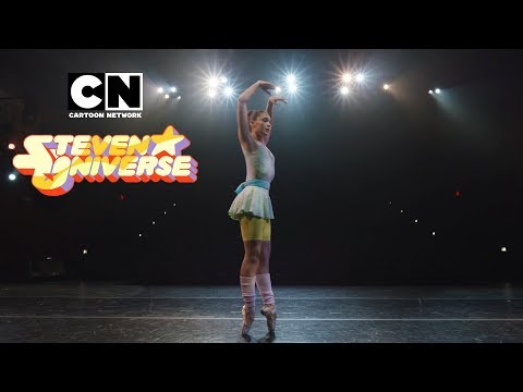 "Steven Universe | Ballerina Pearl Dances To ""It's Over, Isn't It"" 