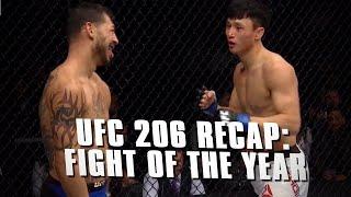 UFC 206 Recap: Cub Swanson vs. Dooho Choi - Fight of the Year?