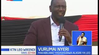 Wafuasi wa Ngunjiri na wa Ruto wakabiliana Nyeri
