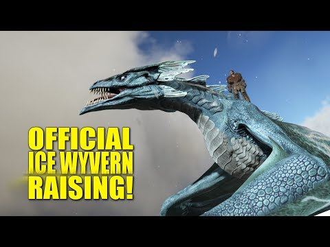 Official Ice Wyvern Breeding! (Ark Official Pvp Ragnarok) - Ark:Survival Evolved - Ep.2