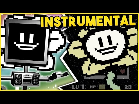 FLOWEY SONG (Undertale) ► Fandroid [Instrumental]