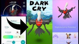 Pokemon Go Darkrai Raid & Catch