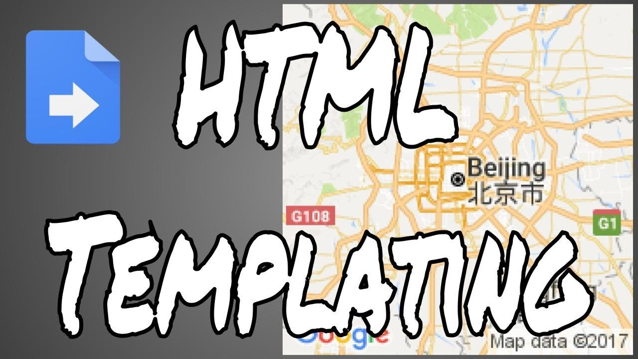 Apps Script: HTML Templating - YouTube