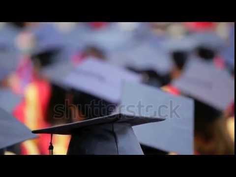 stock footage graduates at simon fraser university