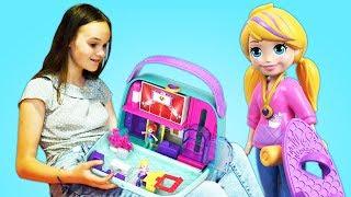 СЮРПРИЗ В КАРМАНЕ! Открываем наборы с Polly Pocket / Полли Покет. Куклы и игровые наборы для девочек
