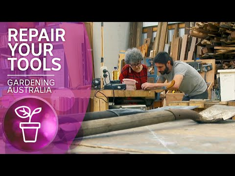 Inspiring repair cafe makes old garden tools like new | Wow to | Gardening Australia